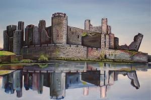 Caerphilly Castle crop