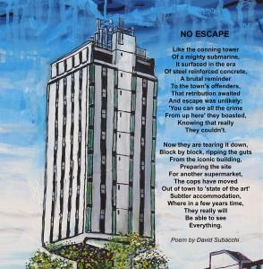Wrexham Police station poem