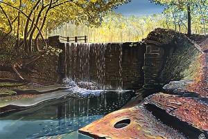 Bersham Waterfall web